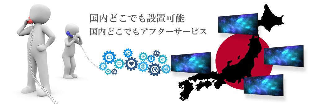 デジタルサイネージアフターサービス